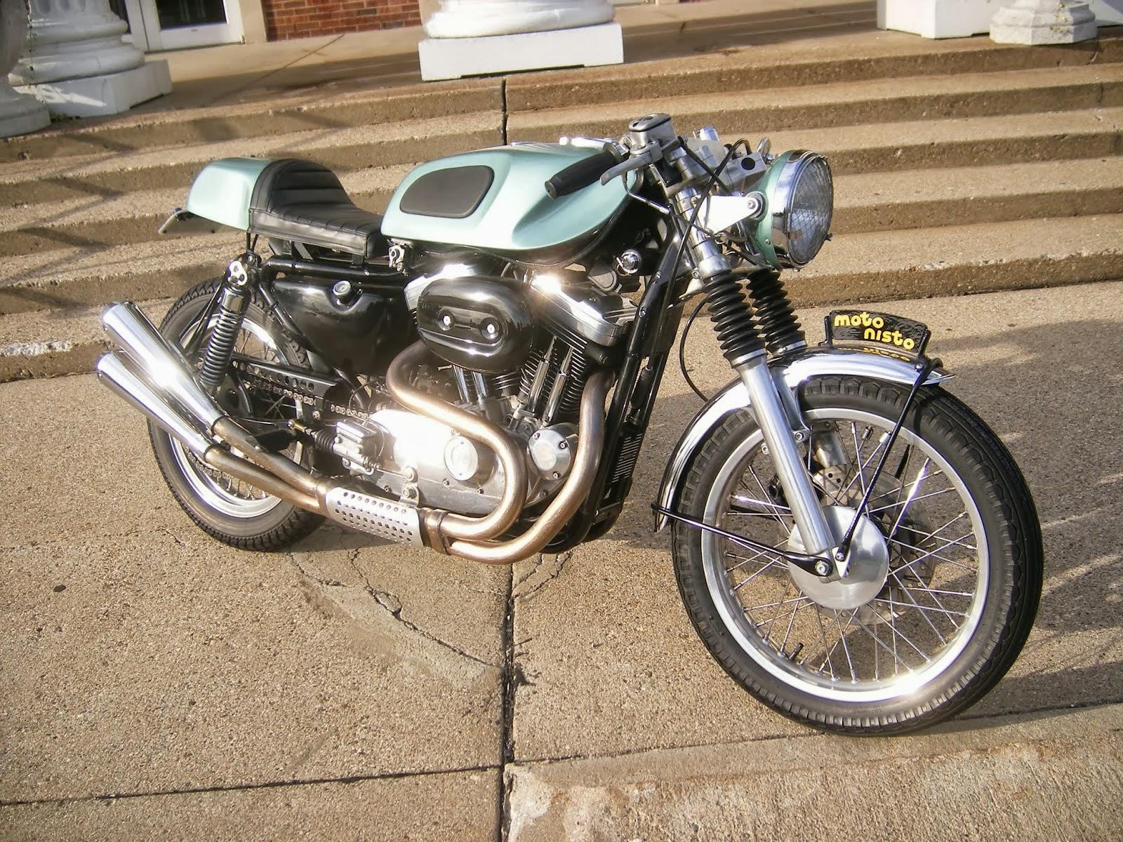 Harley Davidson Sportster Cafe Racer way2speed