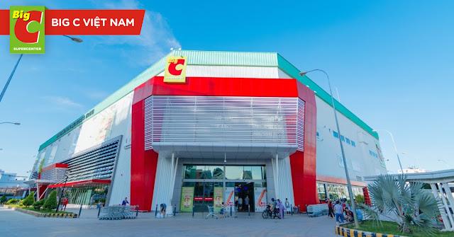 Danh sách siêu thị Big C tại Việt Nam [2020]