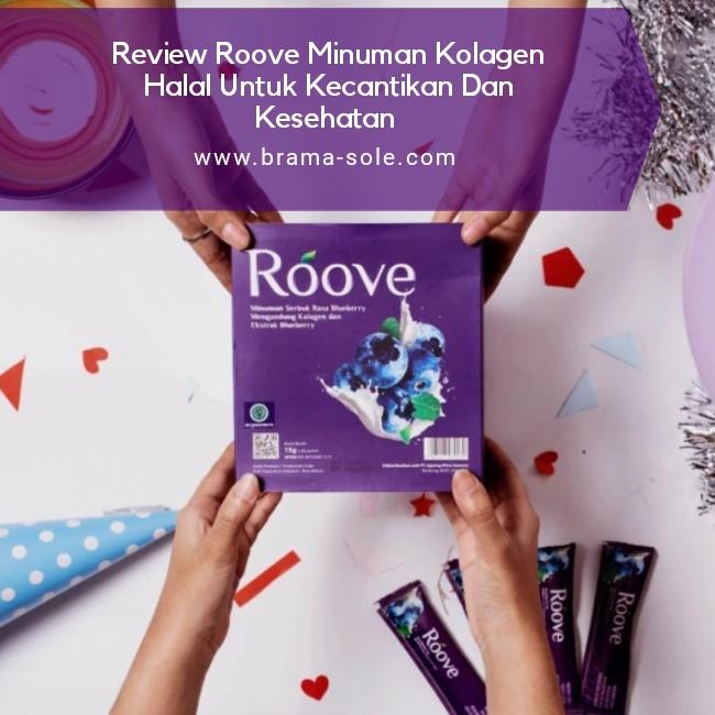 Review Roove Minuman Kolagen Halal Untuk Kecantikan Dan Kesehatan