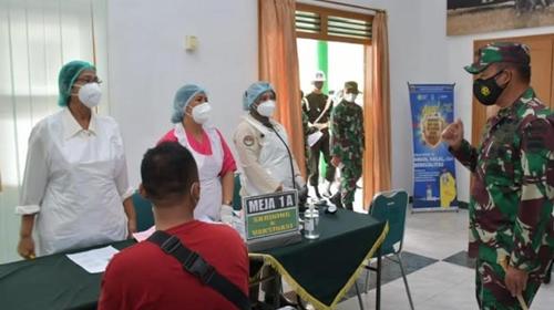 Pangdam I/BB: Para Nakes adalah Pahlawan Kesehatan Bangsa