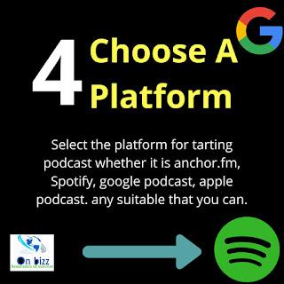 memilih platform podcast