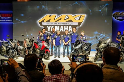 Baru Maxi Skutik Yamaha Lexi 125 VVA Harga 20 Juta
