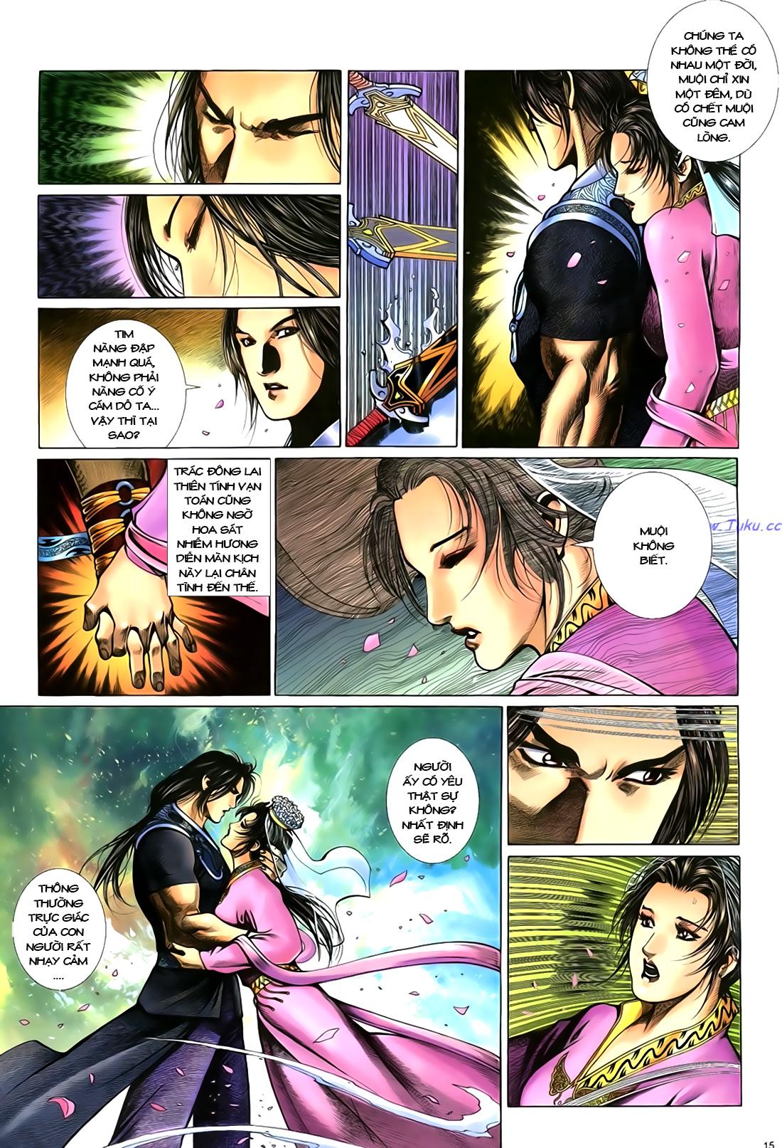 Anh hùng vô lệ Chap 18 trang 16