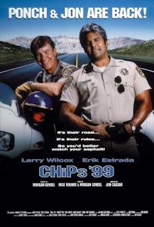 Cartel original de la película CHiPs '99