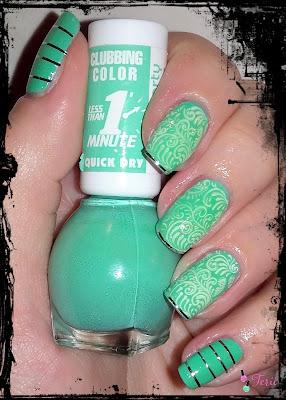 Miss Sporty Clubbing Color, Zielono MI
