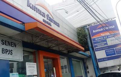 apotek yang buka 24 jam area kota Jakarta Pusat