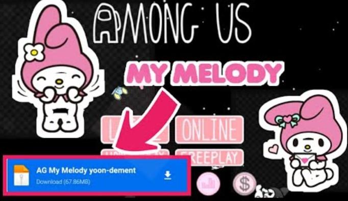 Among Us My Melody Apk