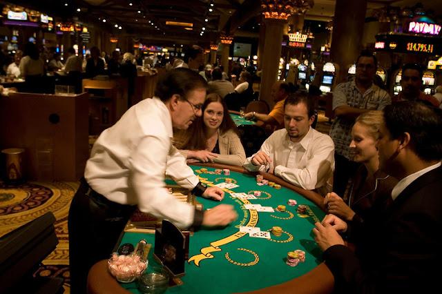 Blackjack nos torneios de cassinos em Las Vegas