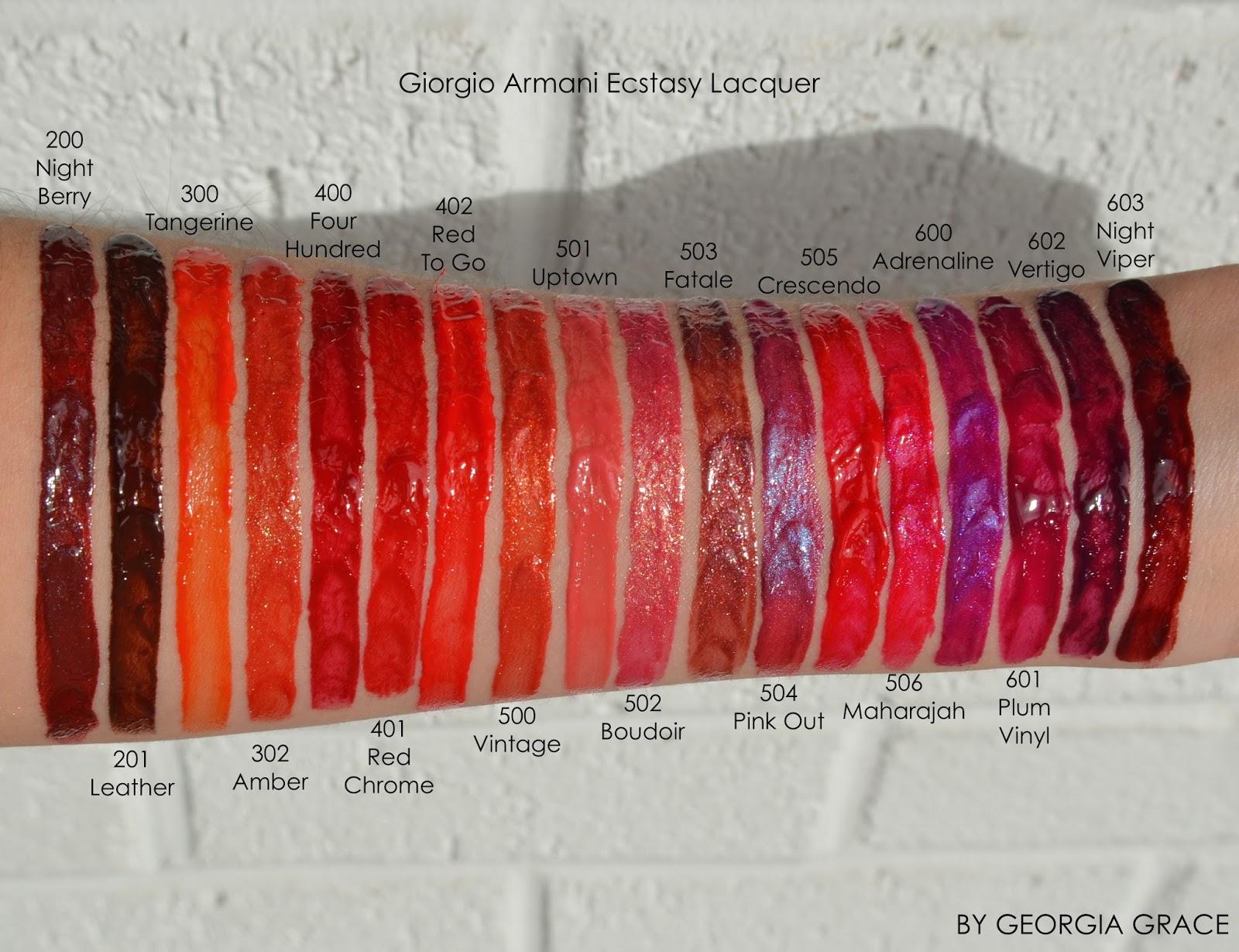 Ecstasy Lacquer Lip Gloss by Giorgio Armani Beauty #13