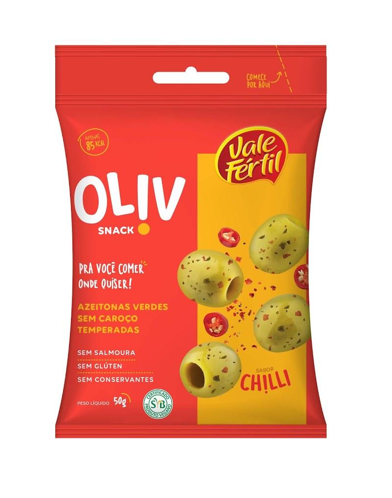 Vale Fértil lança o Oliv, primeiro snack de azeitonas produzido no Brasil