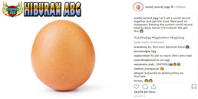 Hanya-Sebuah-Foto-Telur-Paling-Banyak-Disukai-di-Instagram