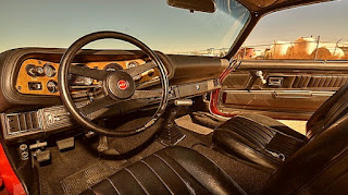 1971 Chevrolet Camaro LS-7 Steering Wheel & Interior