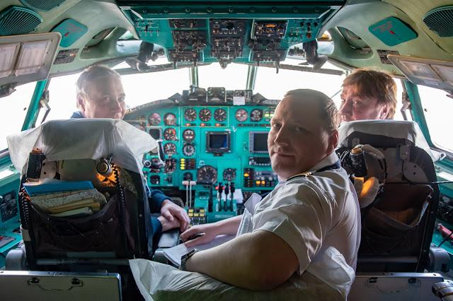 アルロサ航空 パイロット АЛРОСА Пилот Ту-154