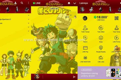 Download Tema Line Anime Boku No Hero Academia