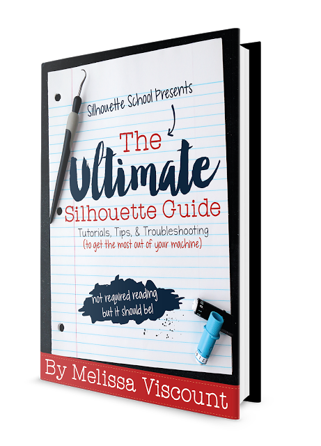 silhouette cameo projects silhouette CAMEO Silhouette Portrait Silhouette CAMEO help silhouette school ebook silhouette dummies silhouette guide beginners silhouette book silhouette cameo book