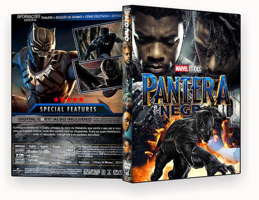 DVD-R Pantera Negra – OFICIAL