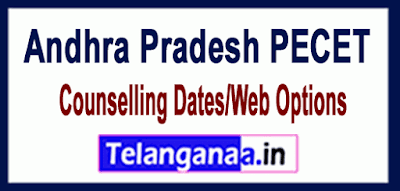 Andhra Pradesh PECET Counselling Dates/Web Options