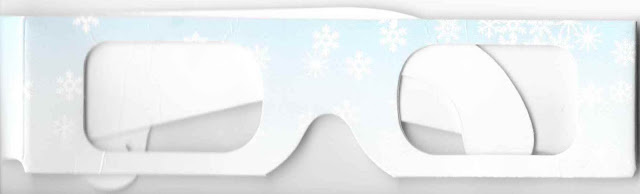 The Osbourne Spectacle of Dancing Lights Snowflake Glasses Front