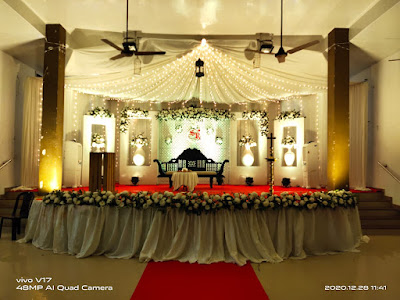 marriage stage decoration service in Kochi