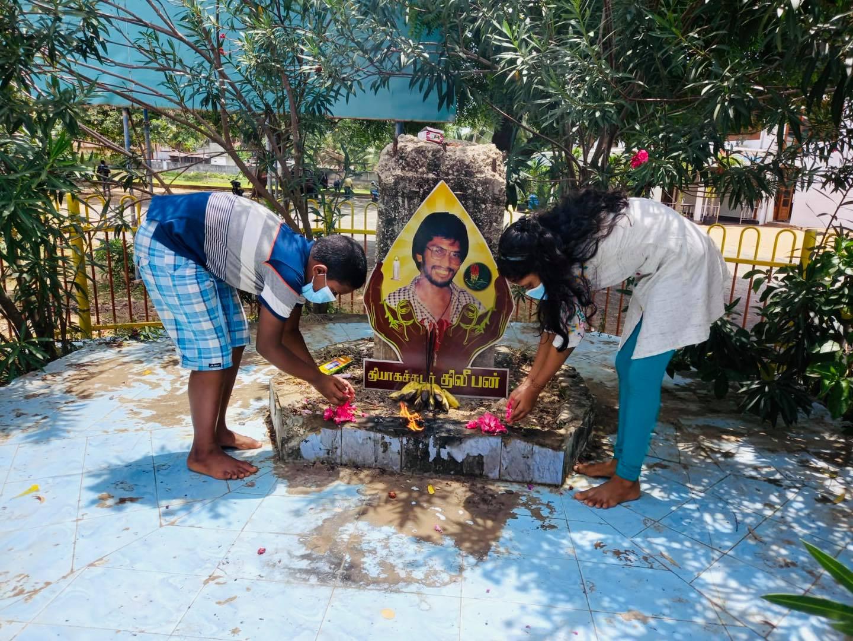 தியாக தீபத்திற்கு நான்காம் நாள் அஞ்சலி!