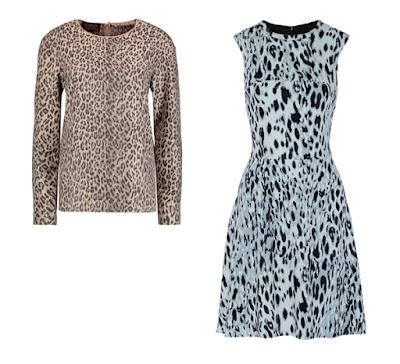 Платье и топ с леопардовым принтом для Мягкого цветотипа