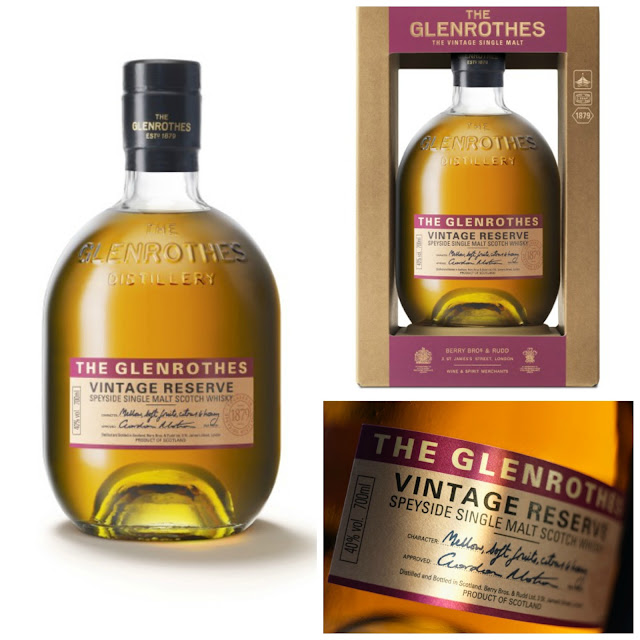 Glenrothes Vintage Reserve Speyside Single Malt Scotch Whisky