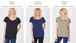 camisetas mujer de Lee