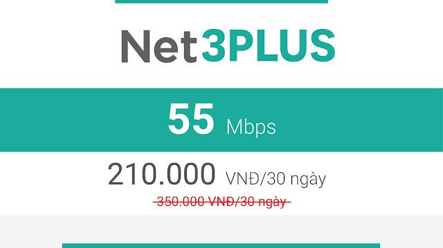 Gói Cáp Quang Viettel Net3 Plus