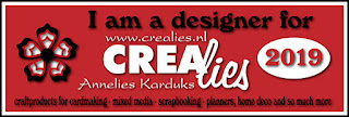 http://www.all4you-wilma.blogspot.com I am a designer for Crealies 2019