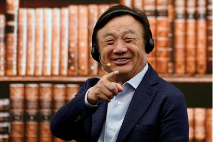 Huawei's Ren Zhengfei prepared to offer 5G tech to a Western purchaser to help make rival, level playing field