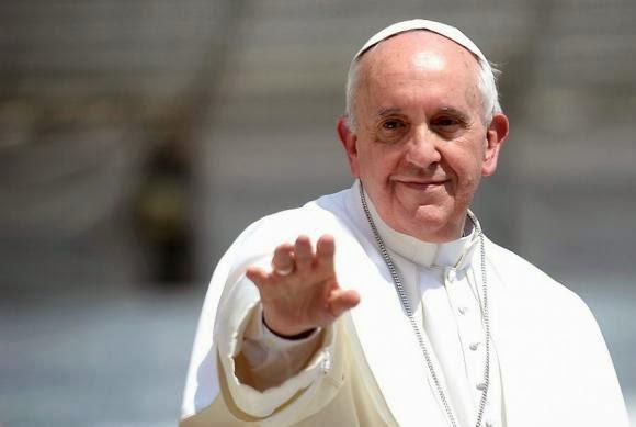 voluntarios visita papa Francisco Ecuador