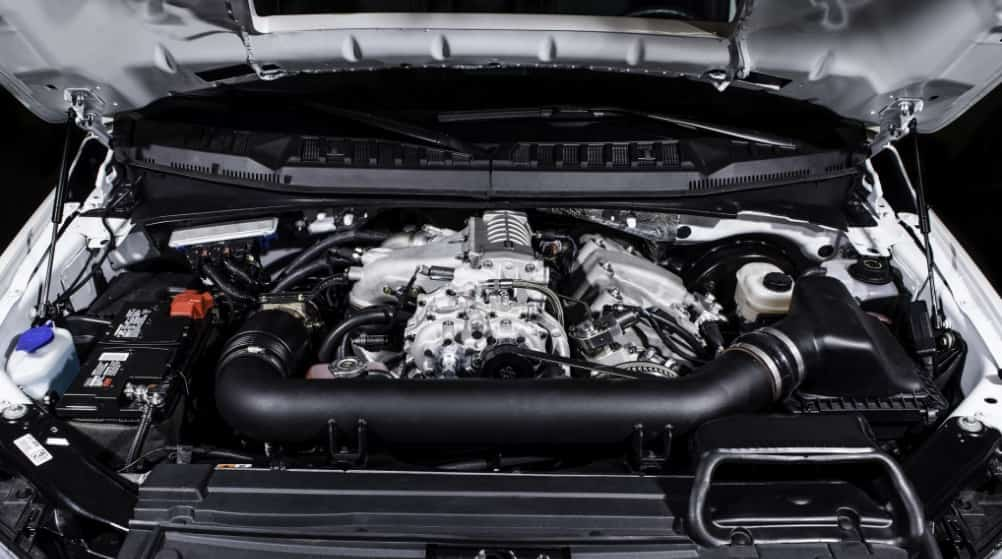 update and range refreshed news fresh huge engine in brings first photos massive f diesel ford
