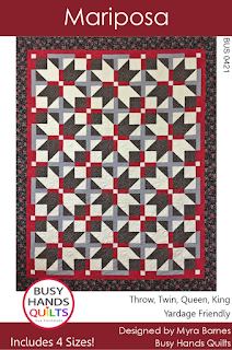 Mariposa Quilt Pattern by Myra Barnes of Busy Hands Quilts
