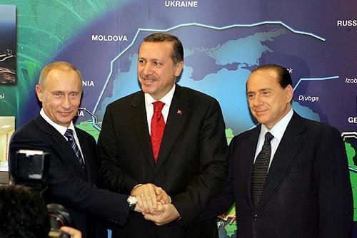 Mavi Akım Projesi - Tayyip Erdoğan- Silvio Berlusconi - Vladimir Putin - sadecegercek.net - Sadece Gerçek