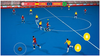 game futsal terbaik untuk android gratis terbaru 2017