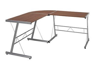 essentials l shaped corner desk