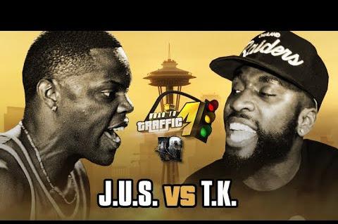 URL Presents: J.U.S vs T.K.