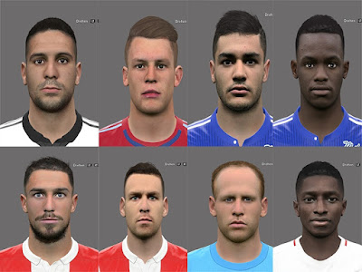 PES 2017 Facepack by Rednik