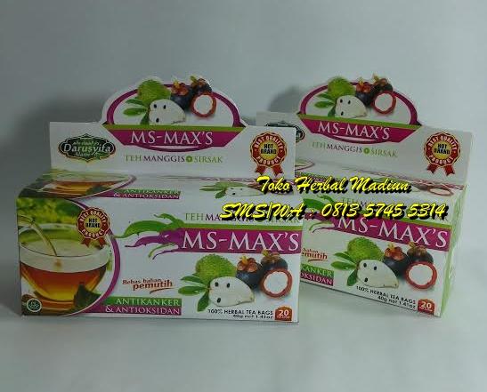 Teh Celup MS-MAX'S Darusyifa Alami Manggis Sirsak