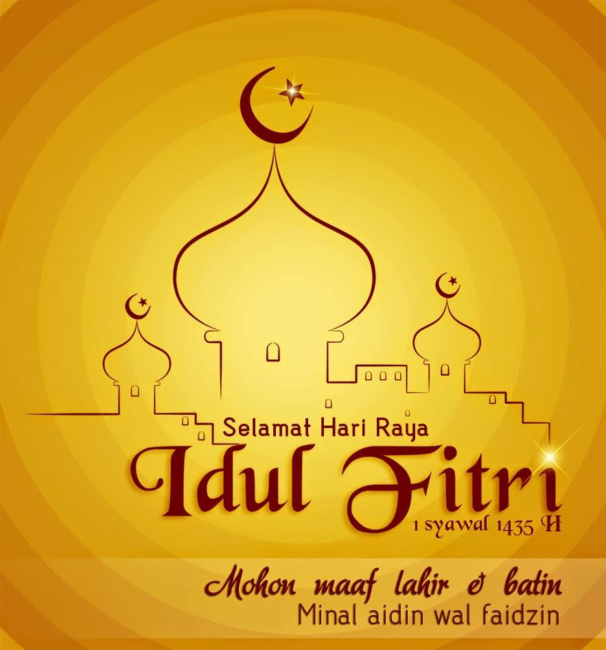 Selamat Hari Raya Idul Fitri: GAMBAR KARTU UCAPAN SELAMAT HARI RAYA IDUL FITRI 1435 H