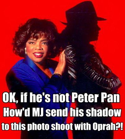 Michael Jackson Shadow Oprah Meme