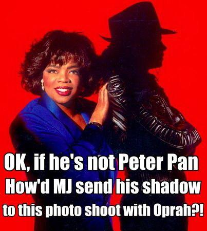 Michael Jackson Shadow Oprah Meme