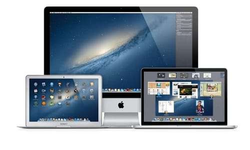 Apple provides Mac OS X Lion and Mountain Lion for free