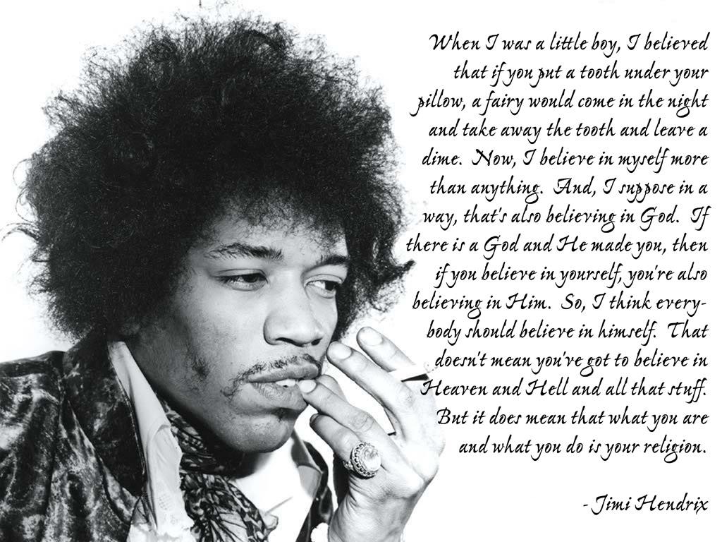 Quotes Jimi Hendrix