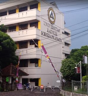 Kampus Universitas Katolik Soegijapranata