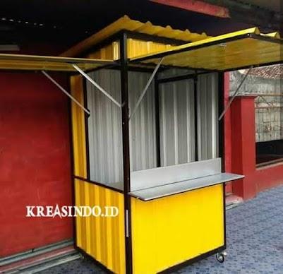 Buat Para Pedagang Kuliner, Ini Dia Jasa Booth Semi Container Surabaya Harga Terjangkau dan Bergaransi