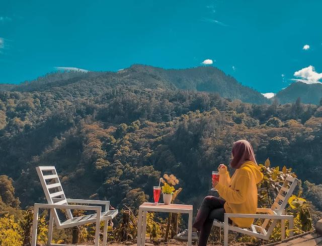 HTM Wisata Panorama Petung Sewu Pacet