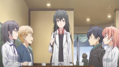 Yahari Ore no Seishun Love Comedy wa Machigatteiru. Zoku الموسم الثاني مترجم كامل بجودة عالية