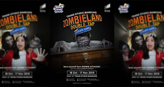 TSB Sajikan Zombieland Double Tap, Escape Games