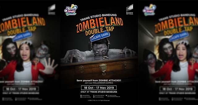 TSB Sajikan Zombieland Double Tap, Escape Games
